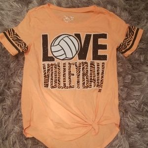 Justice Volleyball Tee